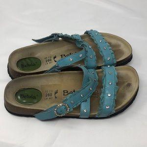 Birkenstock betula Blue jewel Sandals